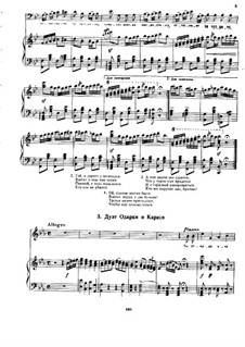 Zaporozhets za Dunayem: Duet of the Odarka and Karas by Semen Hulak-Artemowskij