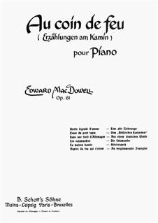 Fireside Tales, Op.61: Vollsammlung by Edward MacDowell