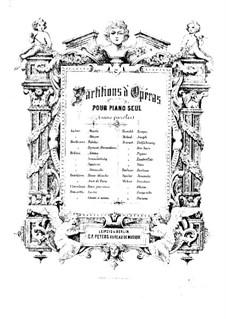 La dame blanche (Die Weiße Frau): Für Klavier by Adrien Boieldieu