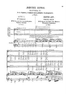 Vollständiger Oper: Akt I by Alexander Porfiryevich Borodin