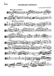 Spanische Serenade: Spanische Serenade by Michail Ippolitow-Iwanow