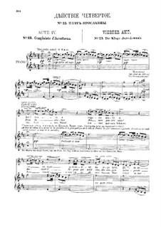 Vollständiger Oper: Akt IV by Alexander Porfiryevich Borodin