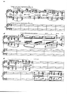 Konzert für Klavier und Orchester in f-Moll, Op.114: Teile II, III, für zwei Klaviere, vierhändig by Max Reger