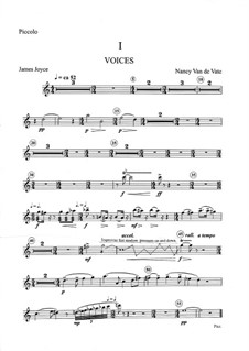 Voices of Women: Orchestral parts (Version B) by Nancy Van de Vate