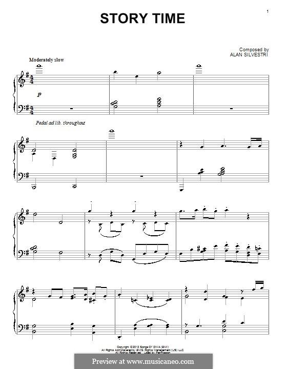 Story Time: Für Klavier by Alan Silvestri