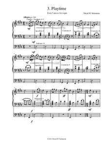 5 organ pieces: No.3 Playtime by David W Solomons