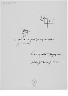 Wiegenlied für ein Instrument und Klavier: Wiegenlied für ein Instrument und Klavier by Ernst Levy