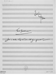Sonatine Nr.3 für Violine und Klavier: Vollpartitur by Ernst Levy