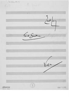Sonatine Nr.3 für Violine und Klavier: Violinstimme by Ernst Levy