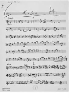 Sonatine Nr.4 für Violine und Klavier: Violinstimme by Ernst Levy