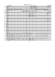 Drei Intermezzos, Op.117: Intermezzo No.1, for orchestra by Johannes Brahms