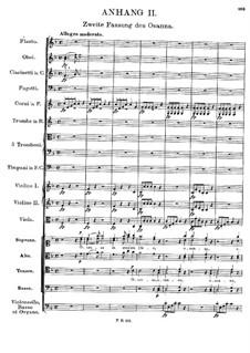 Messe Nr.5 in As-Dur, D.678: Anhang II by Franz Schubert