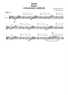 Etude A-harmonics artificial: Etude A-harmonics artificial by Vladimir Malganov
