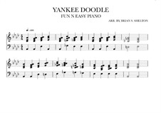 Yankee Doodle: For synthesizer (Ab Major) by folklore