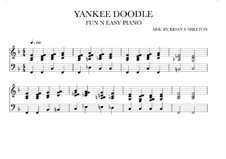 Yankee Doodle: For synthesizer (F Major) by folklore