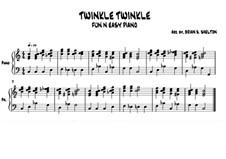 Twinkle, Twinkle Little Star: In C-Dur by folklore