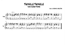 Twinkle, Twinkle Little Star: In Bb major by folklore