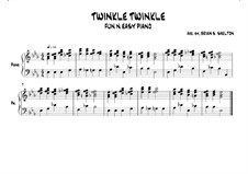 Twinkle, Twinkle Little Star: In Eb major by folklore