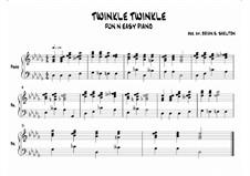 Twinkle, Twinkle Little Star: In Db major by folklore