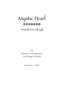 Mystic Pearl: Vollpartitur by Amanda McCullough