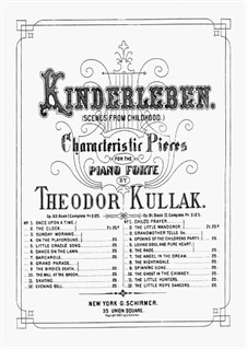 Kinderszenen, Op.81: Book II No.1-8 by Theodor Kullak