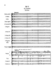 Fragmente: Akt II, Nr.12 Szene by Pjotr Tschaikowski