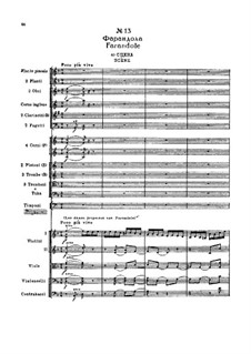 Fragmente: Akt II, Nr.13 Farandole by Pjotr Tschaikowski