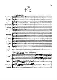 Fragmente: Akt II, Nr.16 Szene by Pjotr Tschaikowski
