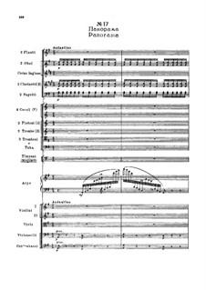 Fragmente: Akt II, Nr.17 Panorama by Pjotr Tschaikowski