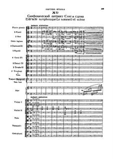 Fragmente: Act II, No.19 Entracte symphonique (Le sommeil) et scène by Pjotr Tschaikowski