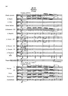 Fragmente: Akt II, Nr.20 Finale by Pjotr Tschaikowski