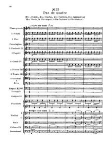 Fragmente: Akt III, Nr.23 Pas de quatre by Pjotr Tschaikowski