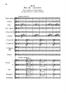 Fragmente: Akt III, Nr.24 Pas de caractère by Pjotr Tschaikowski