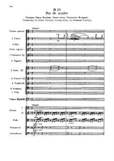 Fragmente: Akt III, Nr.25 Pas de quatre by Pjotr Tschaikowski