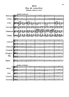 Fragmente: Akt III, Nr.26 Pas de caractère by Pjotr Tschaikowski