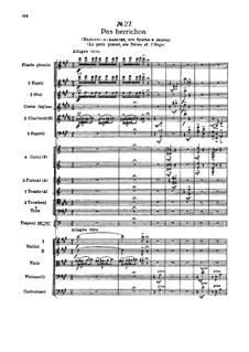 Fragmente: Akt III, Nr.27 Pas berrichon by Pjotr Tschaikowski