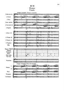 Fragmente: Akt III, Nr.30 Finale by Pjotr Tschaikowski