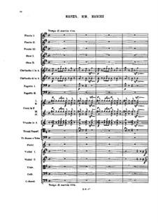 Nr.2 Marsch: For symphonic orchestra by Pjotr Tschaikowski