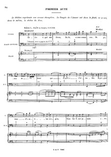 Zaïs, RCT 60: Akt I by Jean-Philippe Rameau