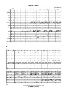 Lion City, Op.20: Lion City by JHFP