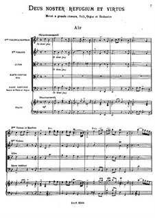 Deus noster refugium et virtus, RCT 13: Nr.1-5 by Jean-Philippe Rameau