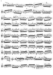 Sonate für Violine Nr.1 in g-Moll, BWV 1001: Movement IV (Presto), for guitar by Johann Sebastian Bach
