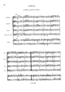 Le temple de la Gloire, RCT 59: Akt II by Jean-Philippe Rameau
