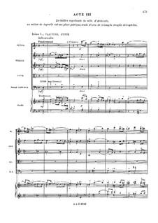 Le temple de la Gloire, RCT 59: Akt III, Szenen I-IV by Jean-Philippe Rameau