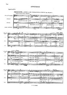 Le temple de la Gloire, RCT 59: Appendix by Jean-Philippe Rameau