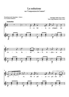 Lieder für Stimme und Klavier: La seduzione by Giuseppe Verdi