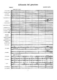 Spiegel für Orchester, M.43a: Teil IV Morgenlied des Narren by Maurice Ravel