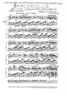 Barcarolle, Op.12 No.13: Barkarole by Alexey E. Kurbanov