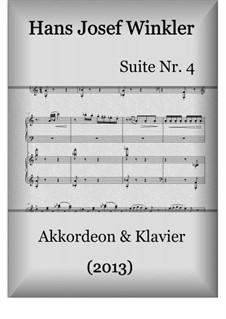 Suite Nr.4 mit drei Tänzen: Suite Nr.4 mit drei Tänzen by Hans Josef Winkler