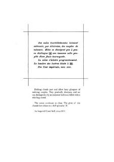 La valse. Choreographisches Poem für Orchester, M.72: Für zwei Klaviere, vierhändig by Maurice Ravel